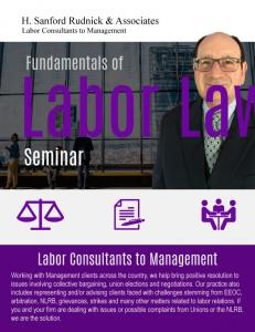 Fundamentals of Labor Law - Seminars